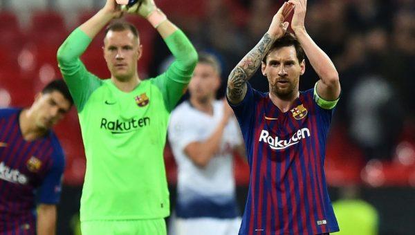 Messi y Abidal